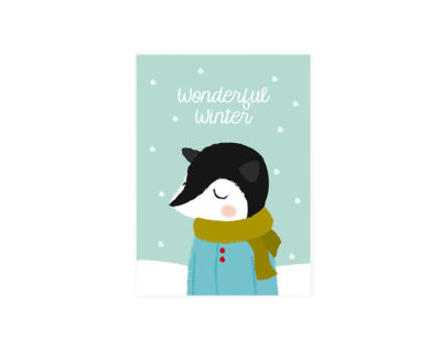 "Postkarte ""Wonderful Winter"""