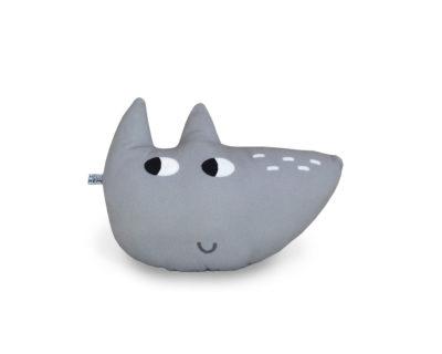 Kleines Tierkissen – Wolfi